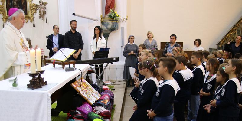 VARAŽDIN <br> Zaziv Duha Svetoga <br> u Katoličkoj osnovnoj školi