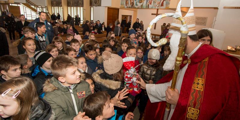 KARLOVAC<br>Sv. Nikola u gostima kod sv. Josipa