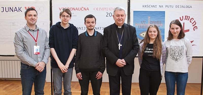 BISKUPIJSKA NATJECANJA VJERONAUČNE OLIMPIJADE<br>Varaždinska biskupija