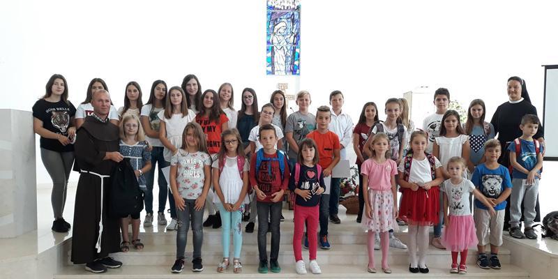 DOMALJEVAC<br>Uz Duha Svetog u novu školsku godinu